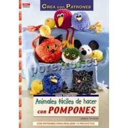 Animales con pompones