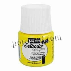 Setacolor Amarillo limón 45 ml