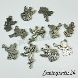 11colgantes angelitos...