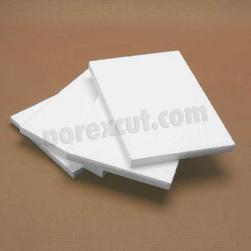 Placas de porexpan poliespan corcho blanco poliestireno expandido