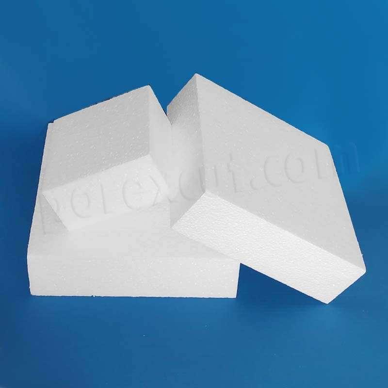 Cuadrada cuadrado porexpan poliespan corcho blanco base tarta fondant