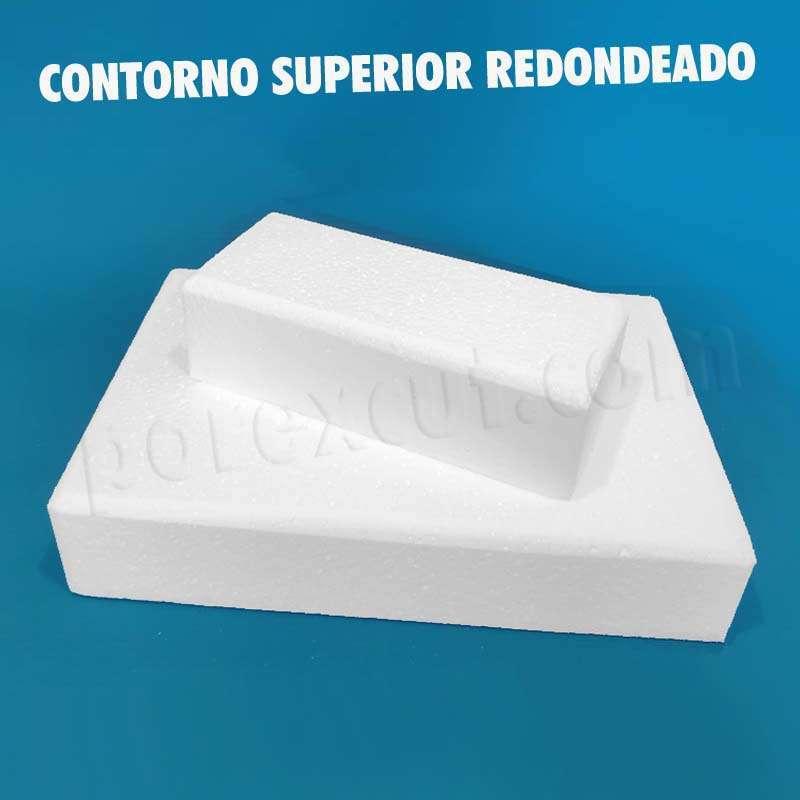 rectangulo rectangular porexpan para belenes, tartas decoracion