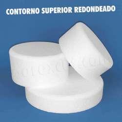 redonda redondo circulo porexpan poliespan corcho blanco porex