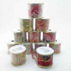 12 cintas decorativas navidad