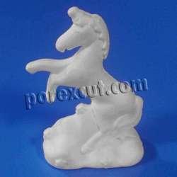 Unicornio de porexpan