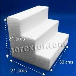 Expositor porexpan poliespan corcho blanco poliestireno expandido