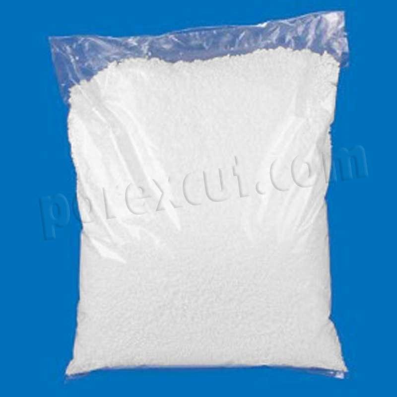 bolsita de nieve artificial porexpan poliespan corcho blanco