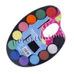 Acuarela 12 colores