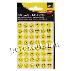 384 Etiquetas adhesivas...