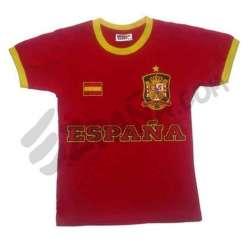 Camiseta con escudo España