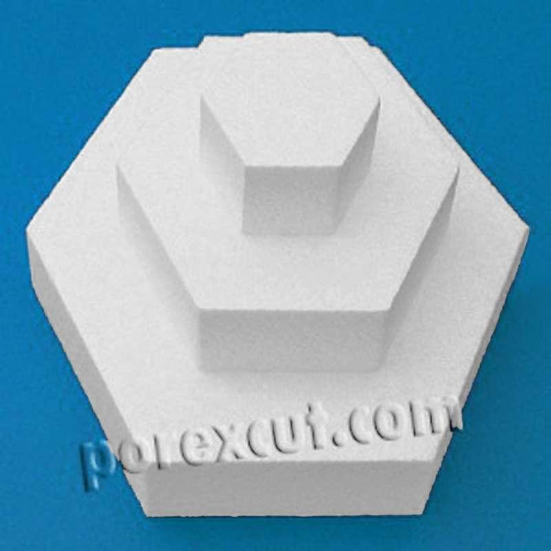 hexagono porexpan poliespan corcho blanco porex