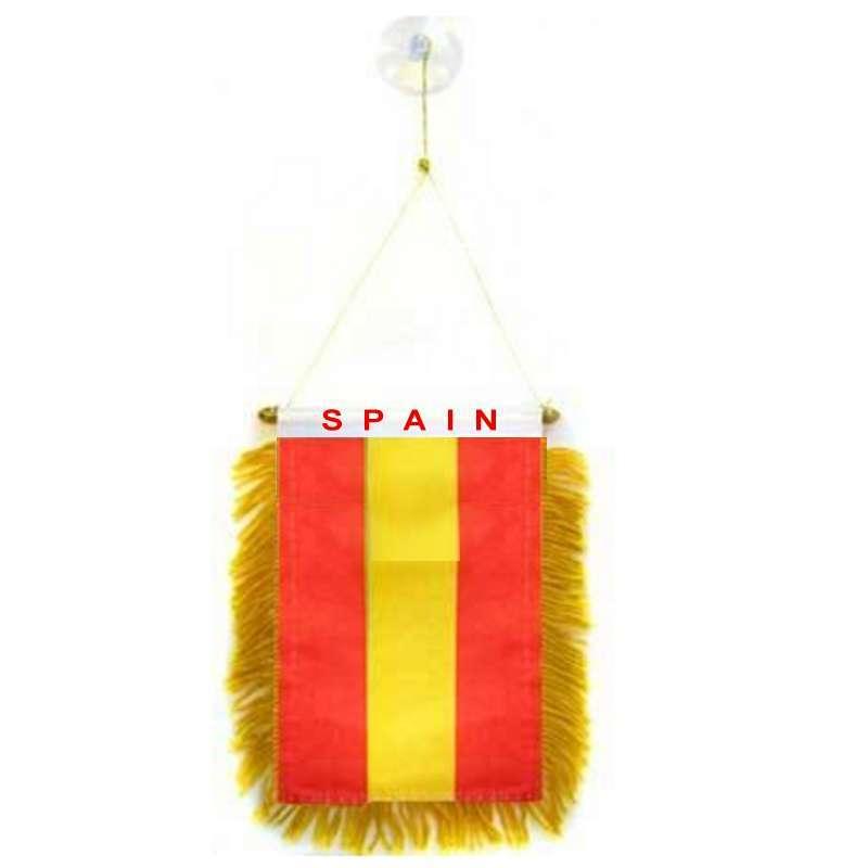 banderin spain con la bandera de españa