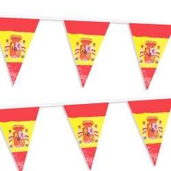 Guirnalda bandera de España