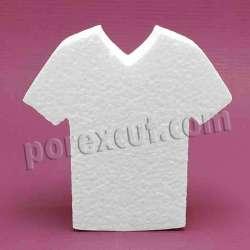 Camiseta de pico porexpan