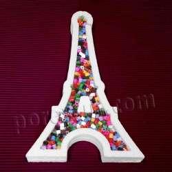 Torre Eiffel hueca