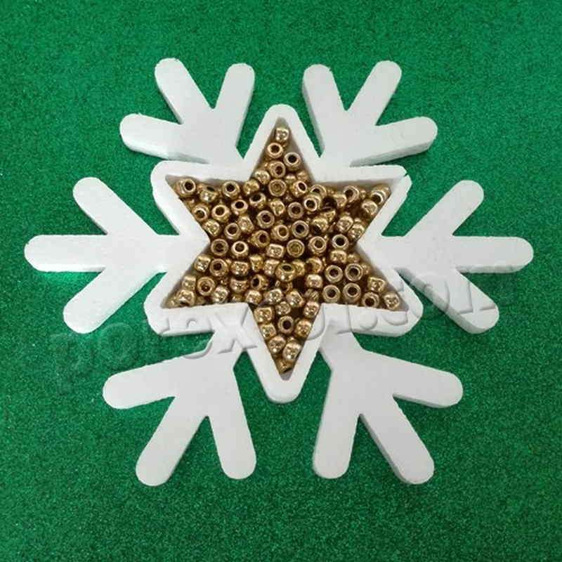 Bandeja copo de nieve hueco para chuches
