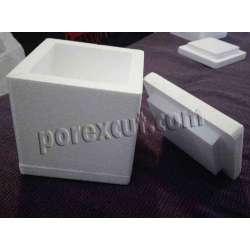 Caja tarta cuadrada de porexpan
