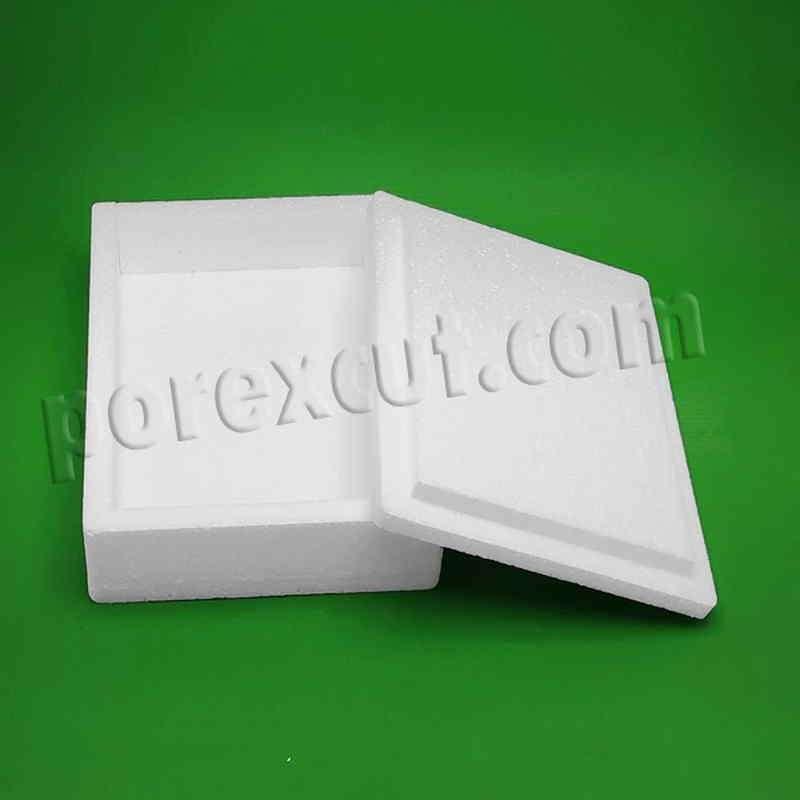 caja de porexpan para envios postales lombrices
