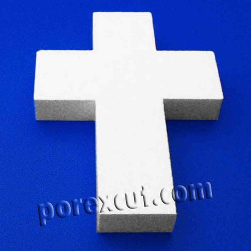 cruz de porexpan poliestireno ex pandido
