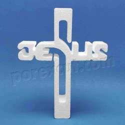 Cruz JESUS de porexpan