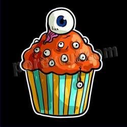 Cupcake silueta 1