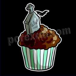 Cupcake silueta 2