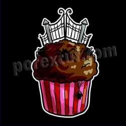 Cupcake silueta halloween 5