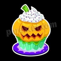Cupcake silueta halloween 9