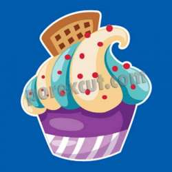 Silueta cupcake porexpan 1