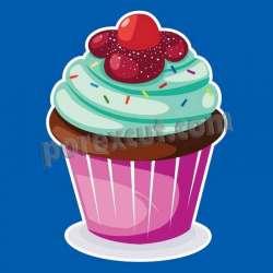Silueta cupcake porexpan 4
