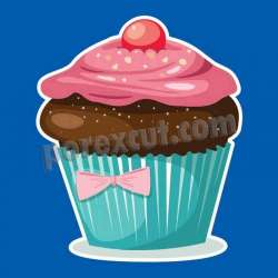 Silueta cupcake porexpan 5