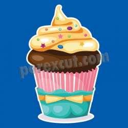 Silueta cupcake porexpan 7