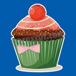 Silueta cupcake porexpan 8