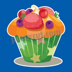 Silueta cupcake porexpan 9