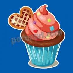 Silueta cupcake porexpan 11