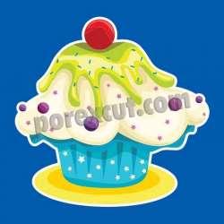 Silueta cupcake porexpan 15
