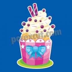 Silueta cupcake porexpan 17