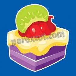 Silueta cupcake porexpan 20