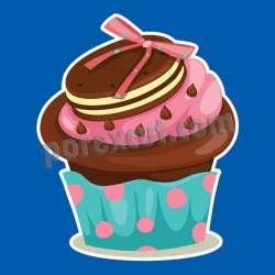 Silueta cupcake porexpan 32