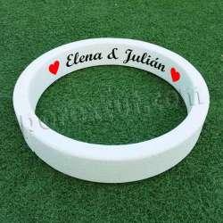 anillo porexpan alianza corcho blanco poliespan porexcut