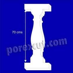 Balaustre 70 cms - 84 cms