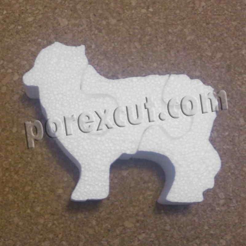Oveja de porexpan poliespan corcho blanco porex porexcut