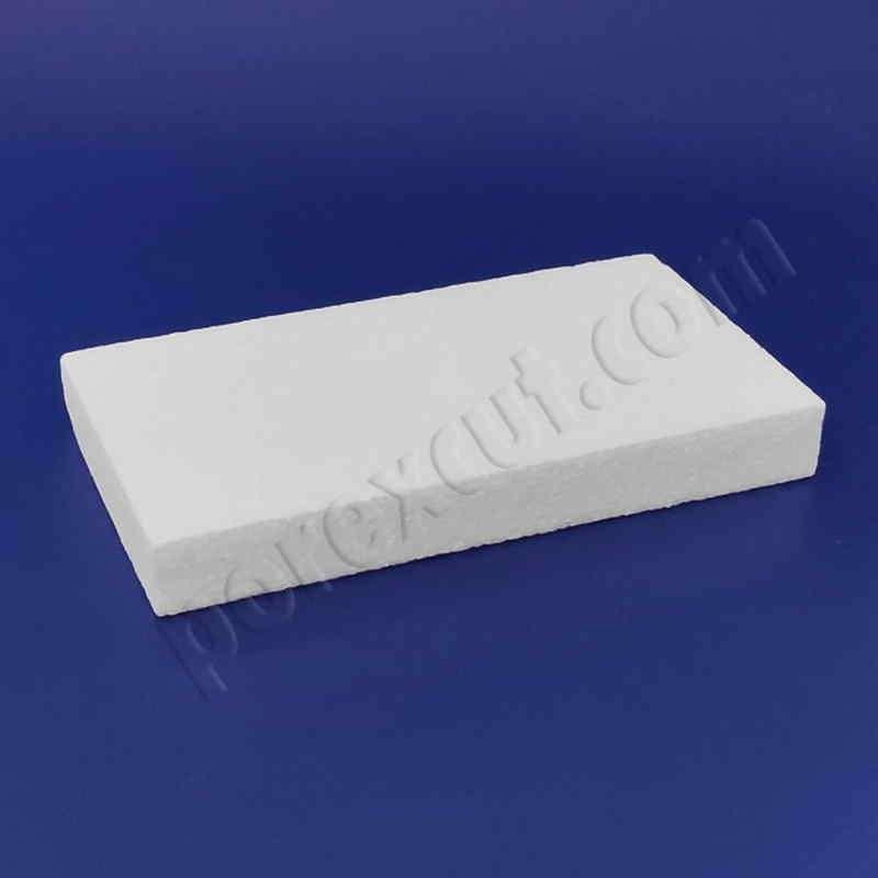 Pieza 1x 2 tapa tipo lego de porexpan poliespan corcho blanco porex porexcut