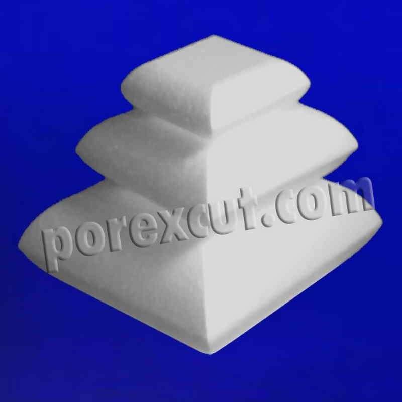 Cojín de porexpan corcho blanco porex poliespan