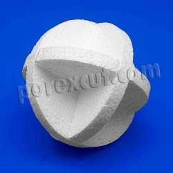 Bola de porexpan corcho blanco porex poliespan