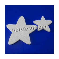 Estrella navidad porexpan poliespan corcho corcho blanco