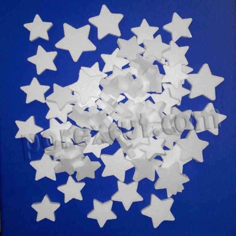 Estrellas navidad surtidas porexpan poliespan corcho corcho blanco