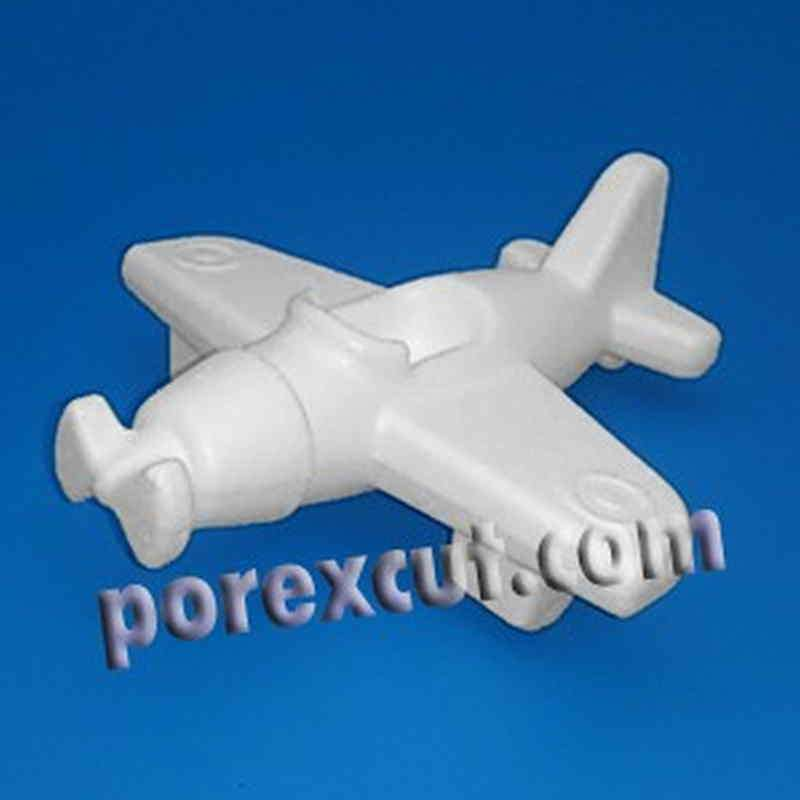 Avioneta porexpan poliespan corcho corcho blanco