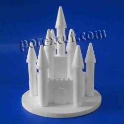 Castillo porexpan poliespan corcho corcho blanco