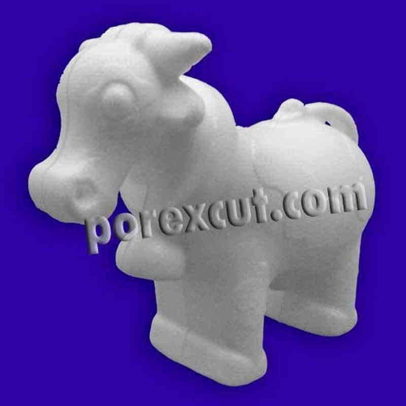 Vaca porexpan poliespan corcho corcho blanco